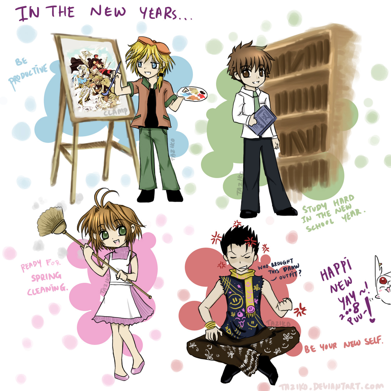 Tsubasa Reservoir Chronicle: Happy New Year? 2008