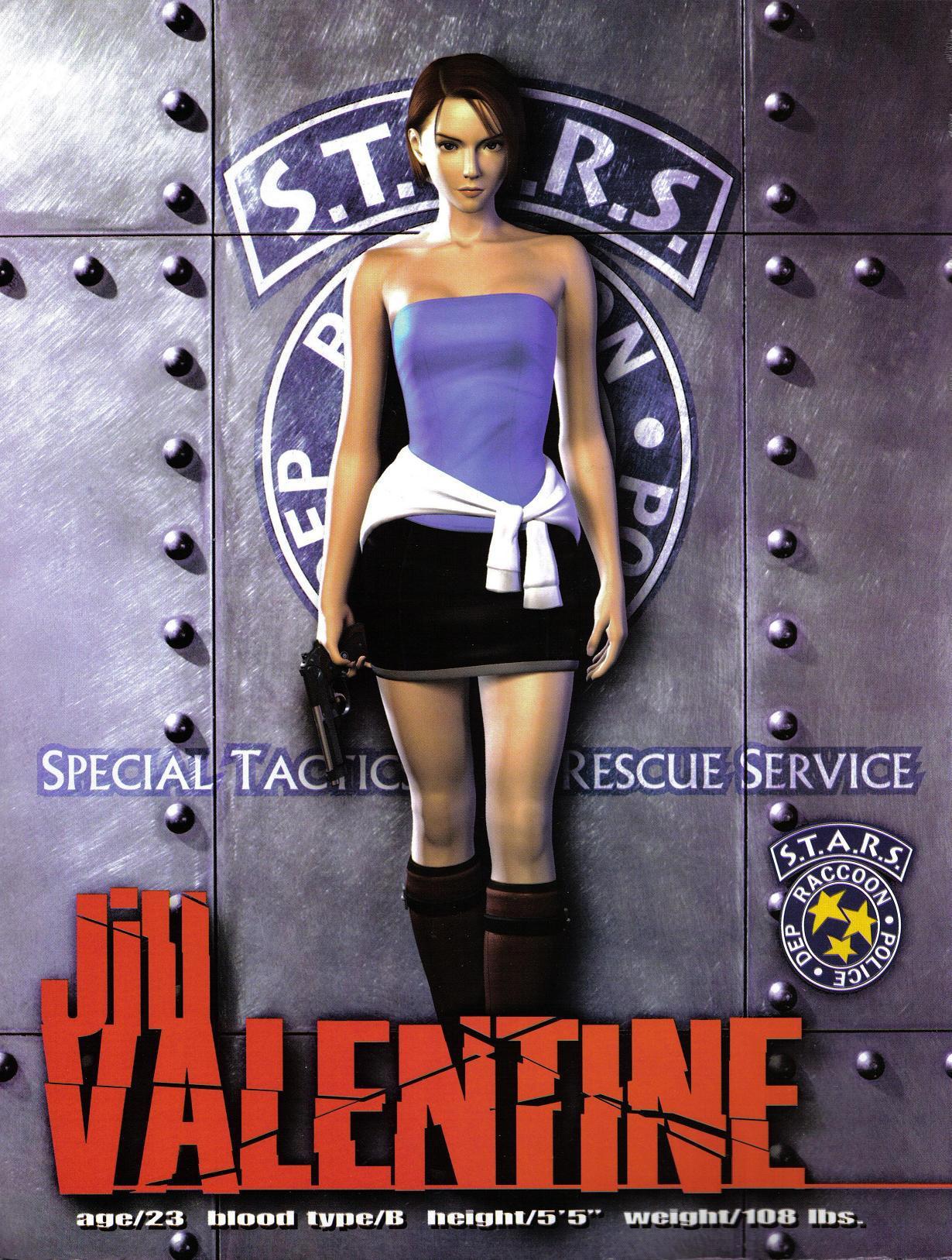 Download Resident Evil 3 Nemesis Jill Valentine 1230x1627