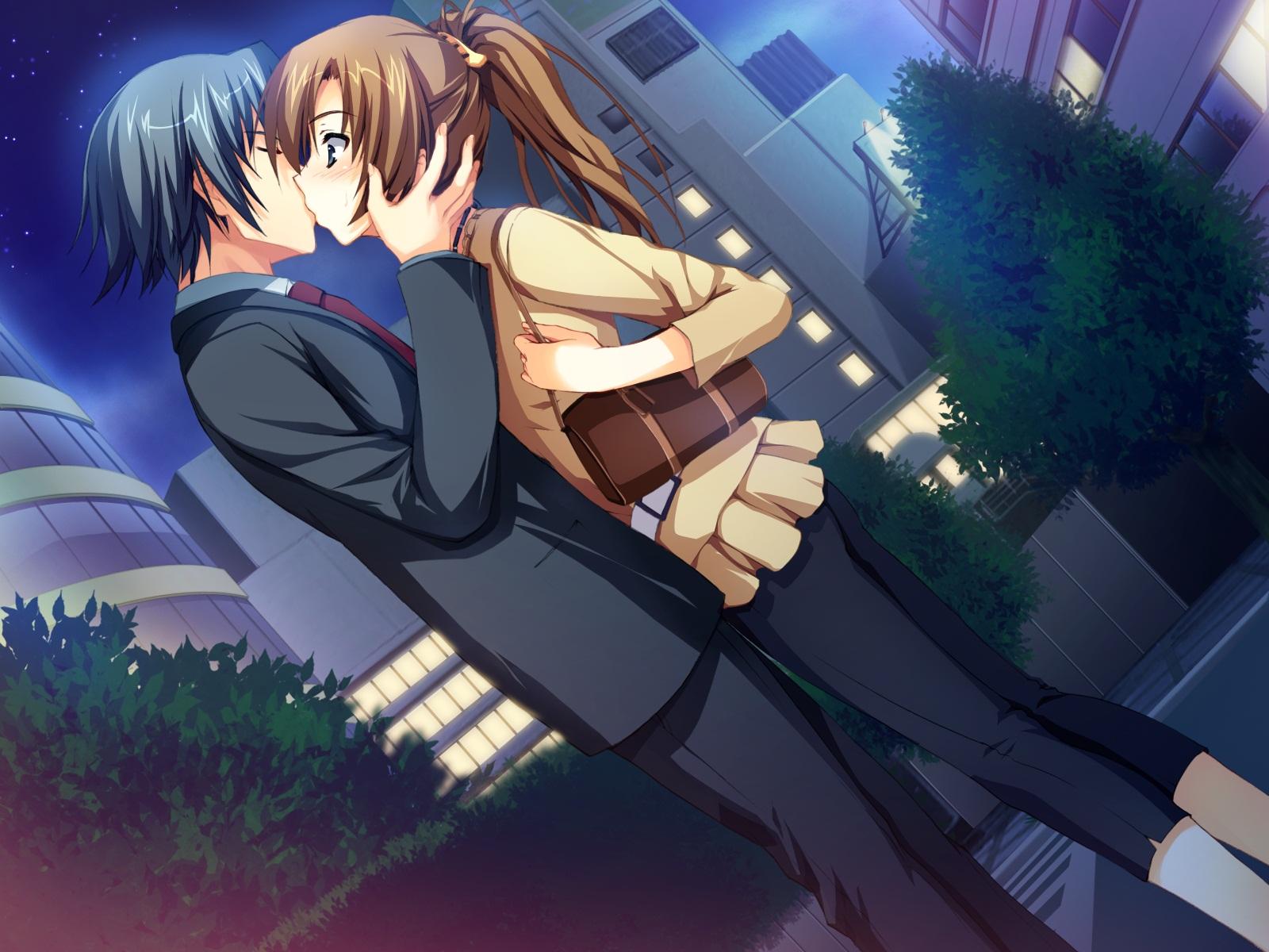 Аниме любовь романтика картинки 4