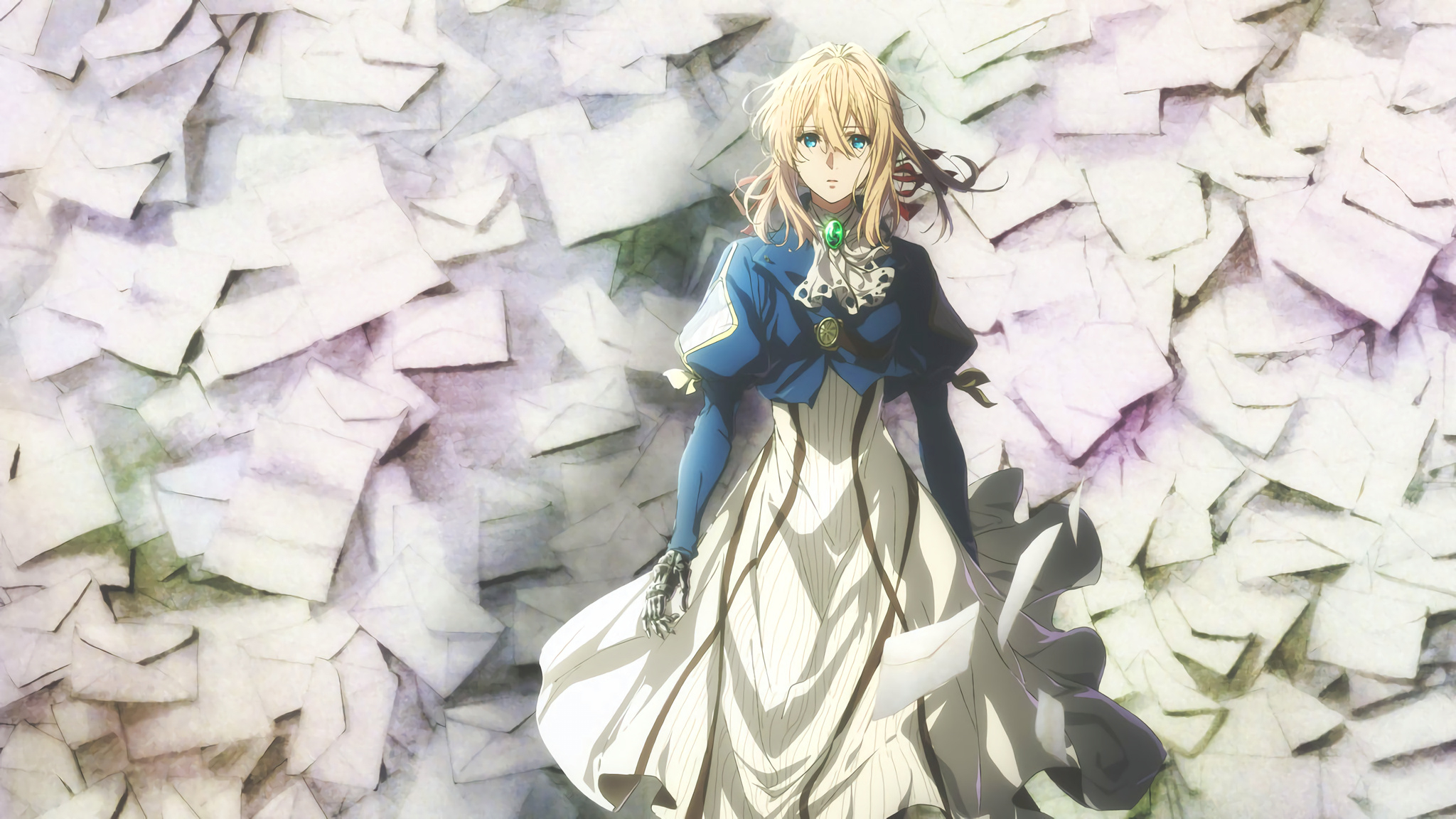 violet evergarden wallpaper and scan gallery minitokyo