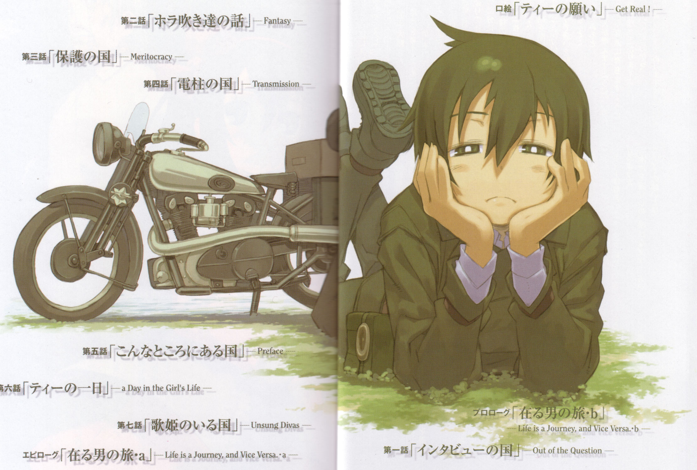 Kino No Tabi Volume 1