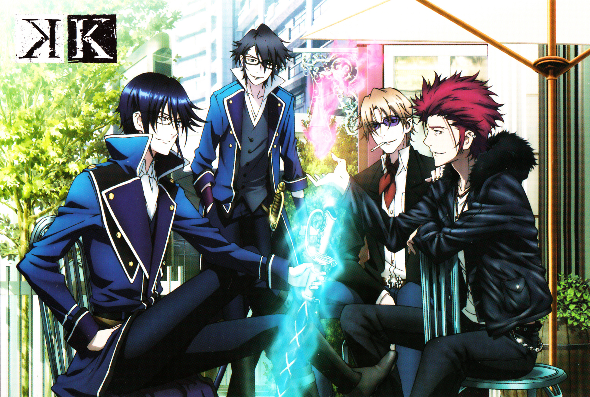 K Project - Wallpaper and Scan Gallery - Minitokyo
