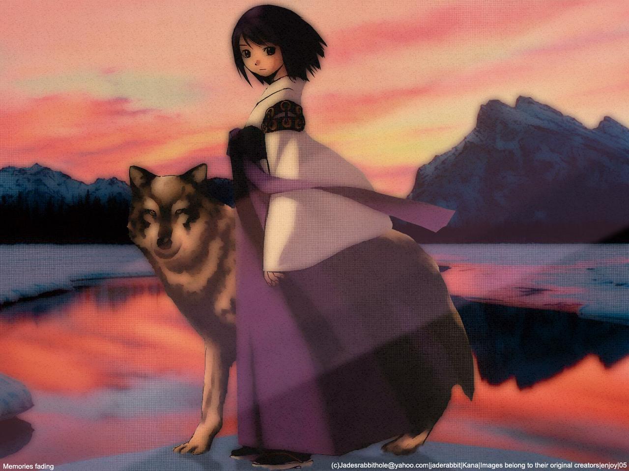 Anime Wallpaper Memories Fading Minitokyo