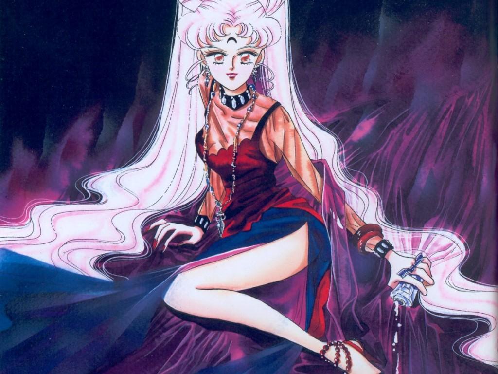 Bishoujo Senshi Sailor Moon Wallpaper Black Lady Minitokyo