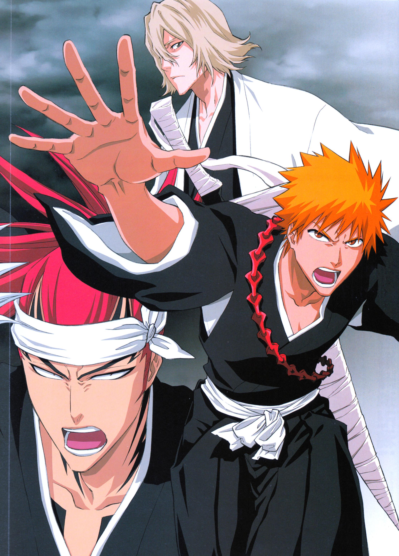Bleach: Ichigo, Renji & Urahara - MinitokyoIchigo X Renji