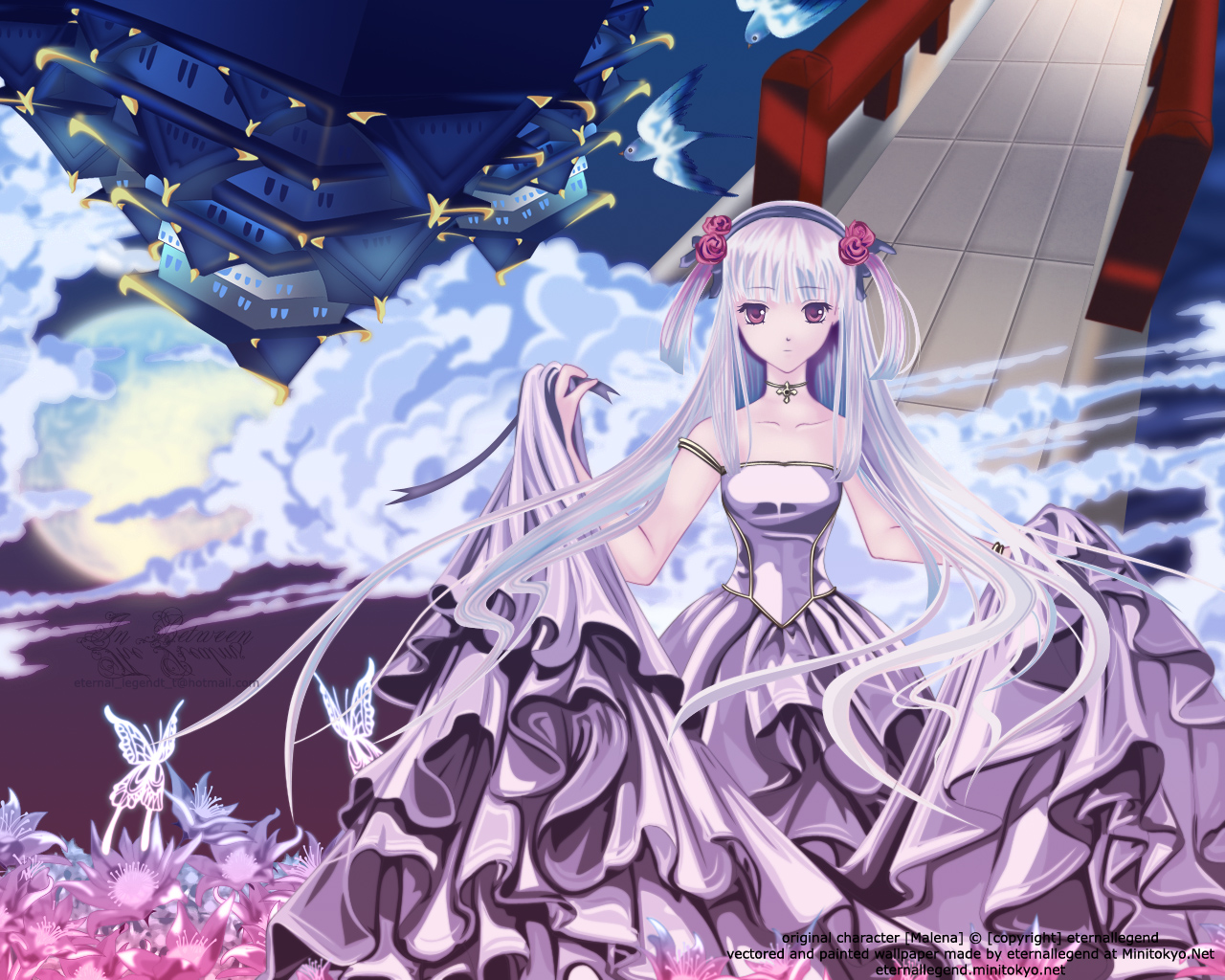 Ball Gown - Wallpaper and Scan Gallery - Minitokyo