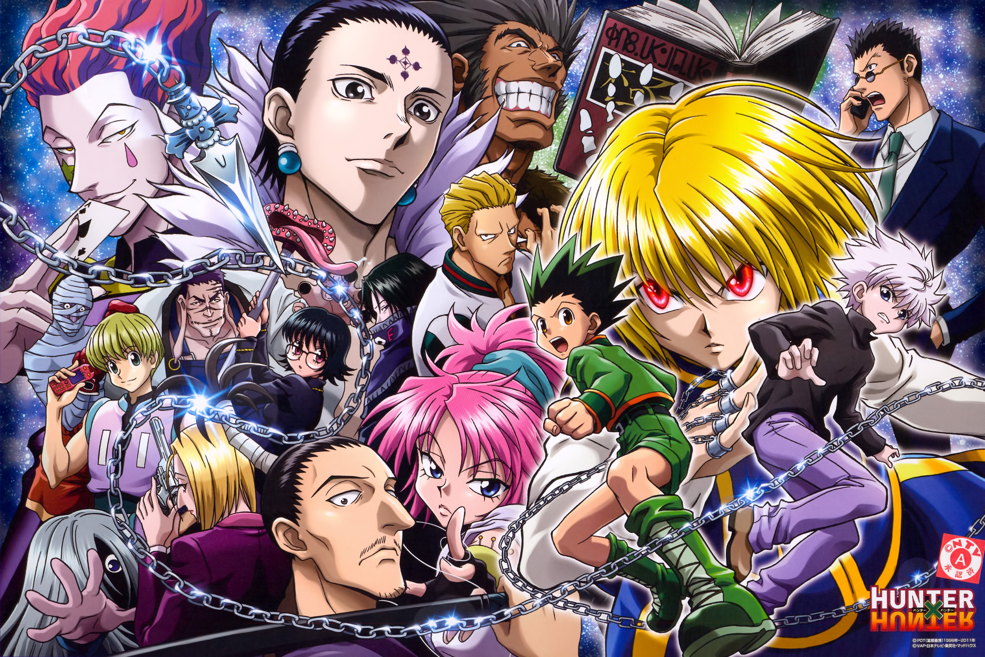 Hunter X Hunter Wallpaper And Scan Gallery Minitokyo