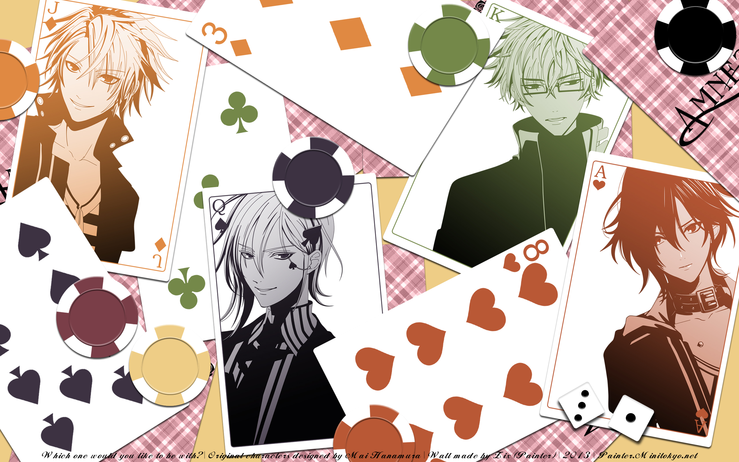 Amnesia Wallpaper Which One Would You Like To Be With Minitokyo