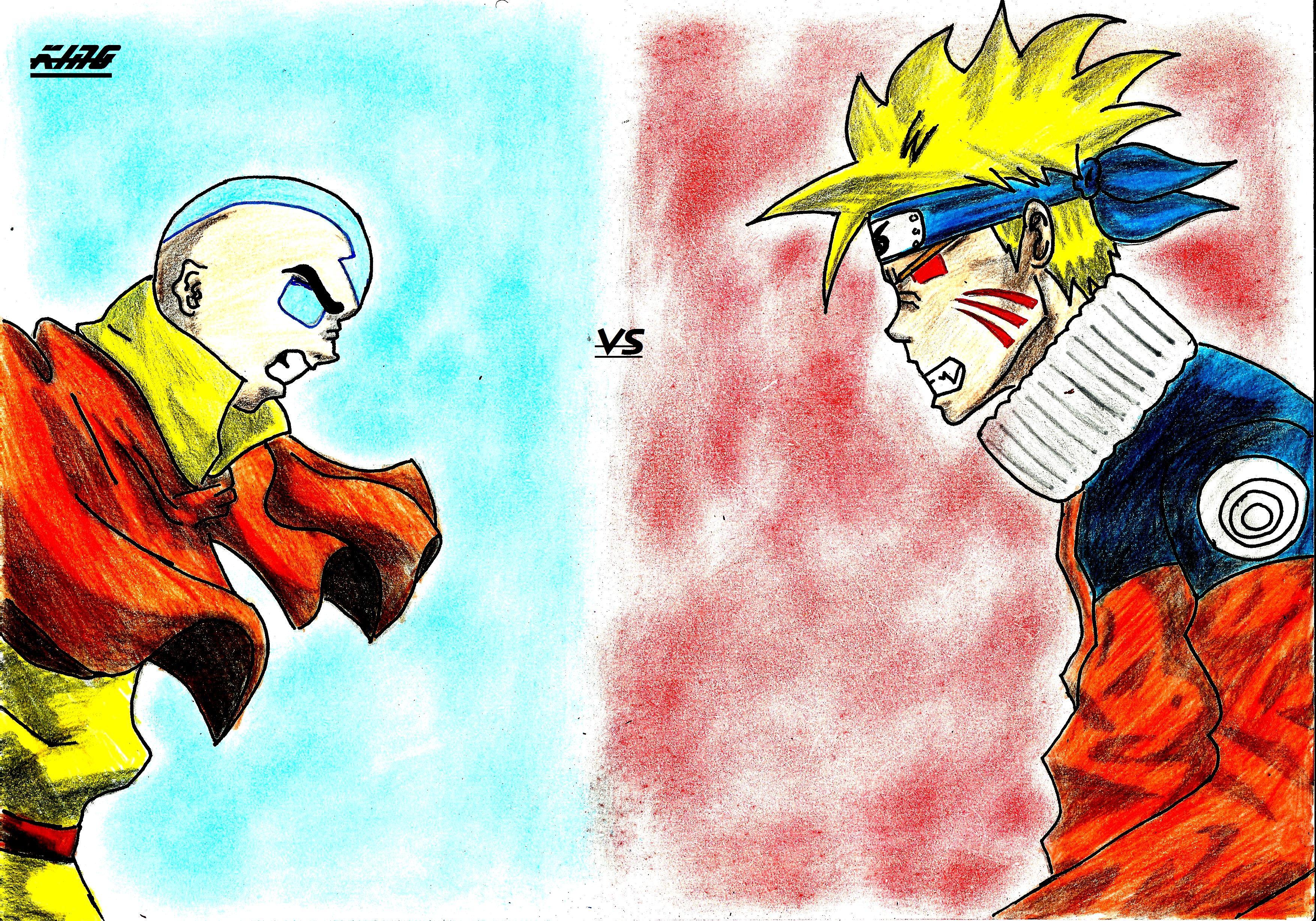 Crossovers: Aang vs Uzumaki:Coloured - Minitokyo Naruto Vs Avatar