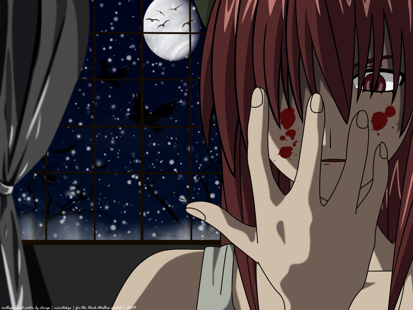 Elfen Lied Wallpaper What Have I Done Minitokyo