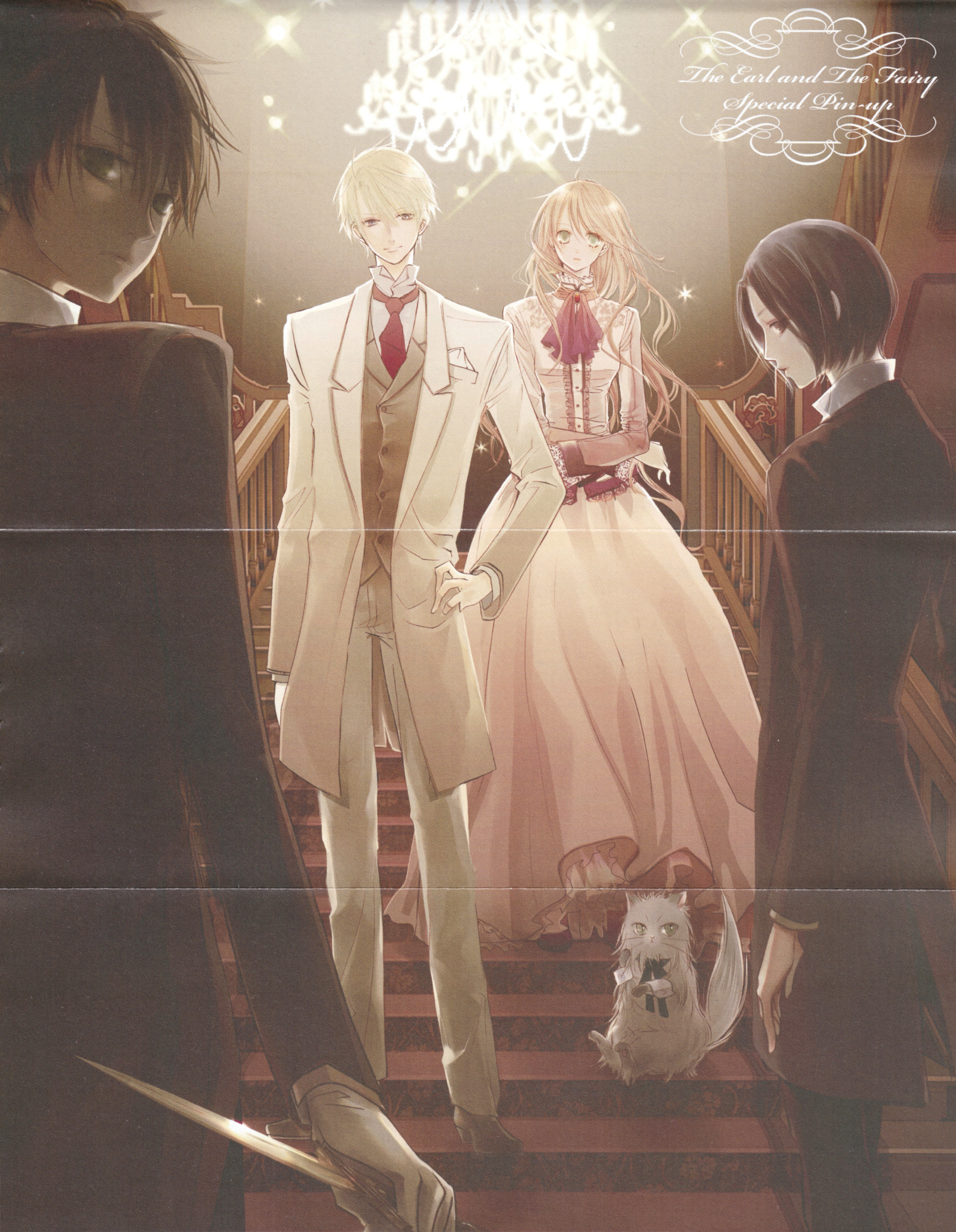 Earl and fairy wedding