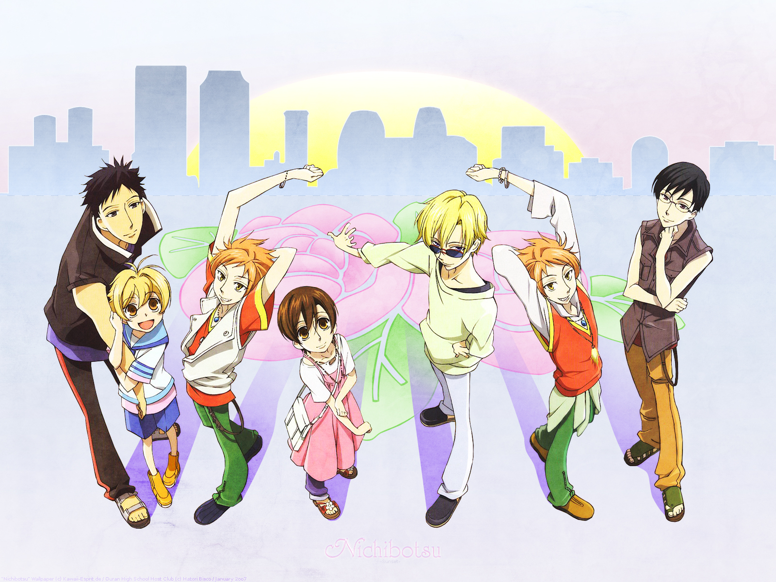 Ouran High School Host Club Wallpaper And Scan Gallery Minitokyo