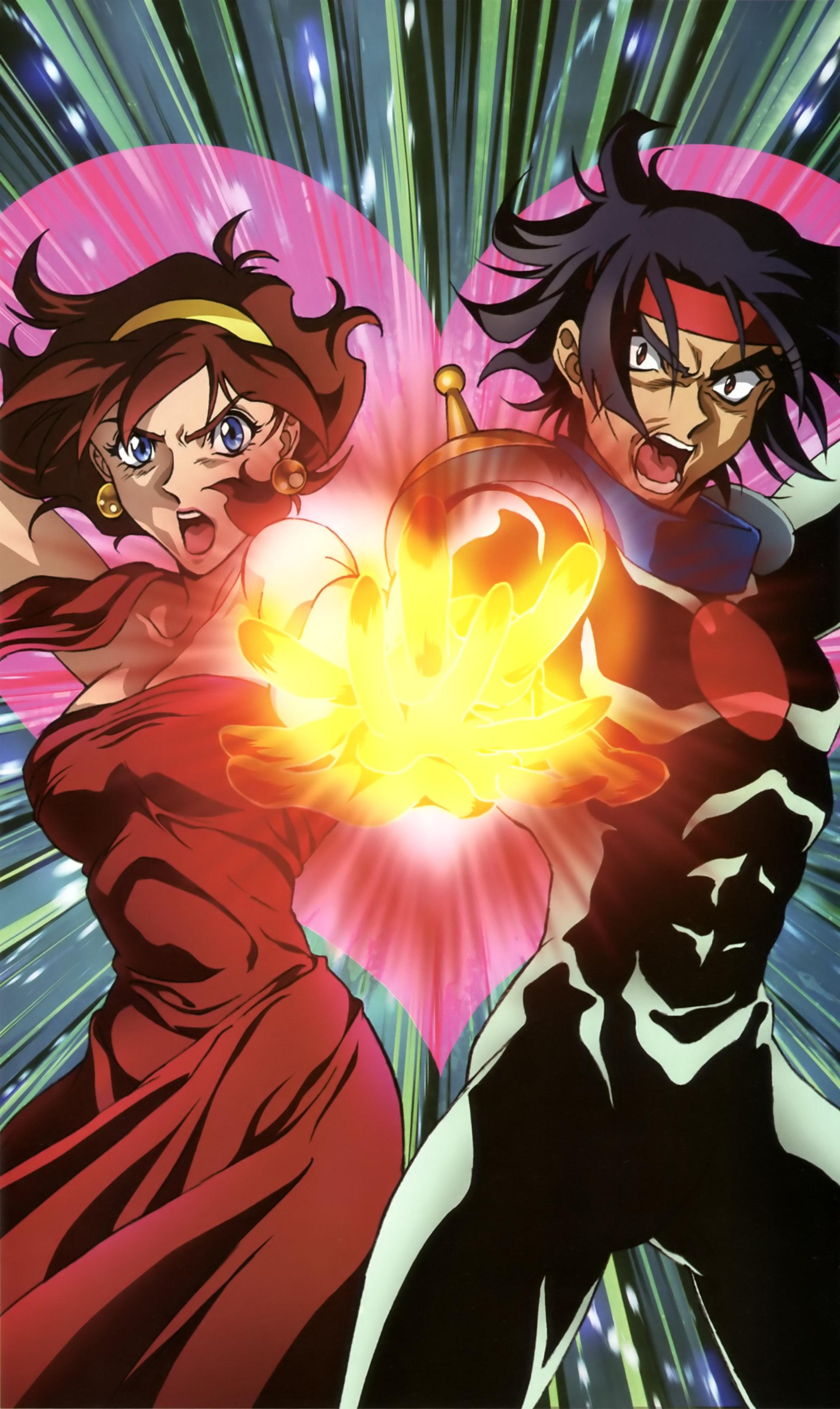 Mobile Fighter G Gundam (Rain Mikamura, Domon Kasshu