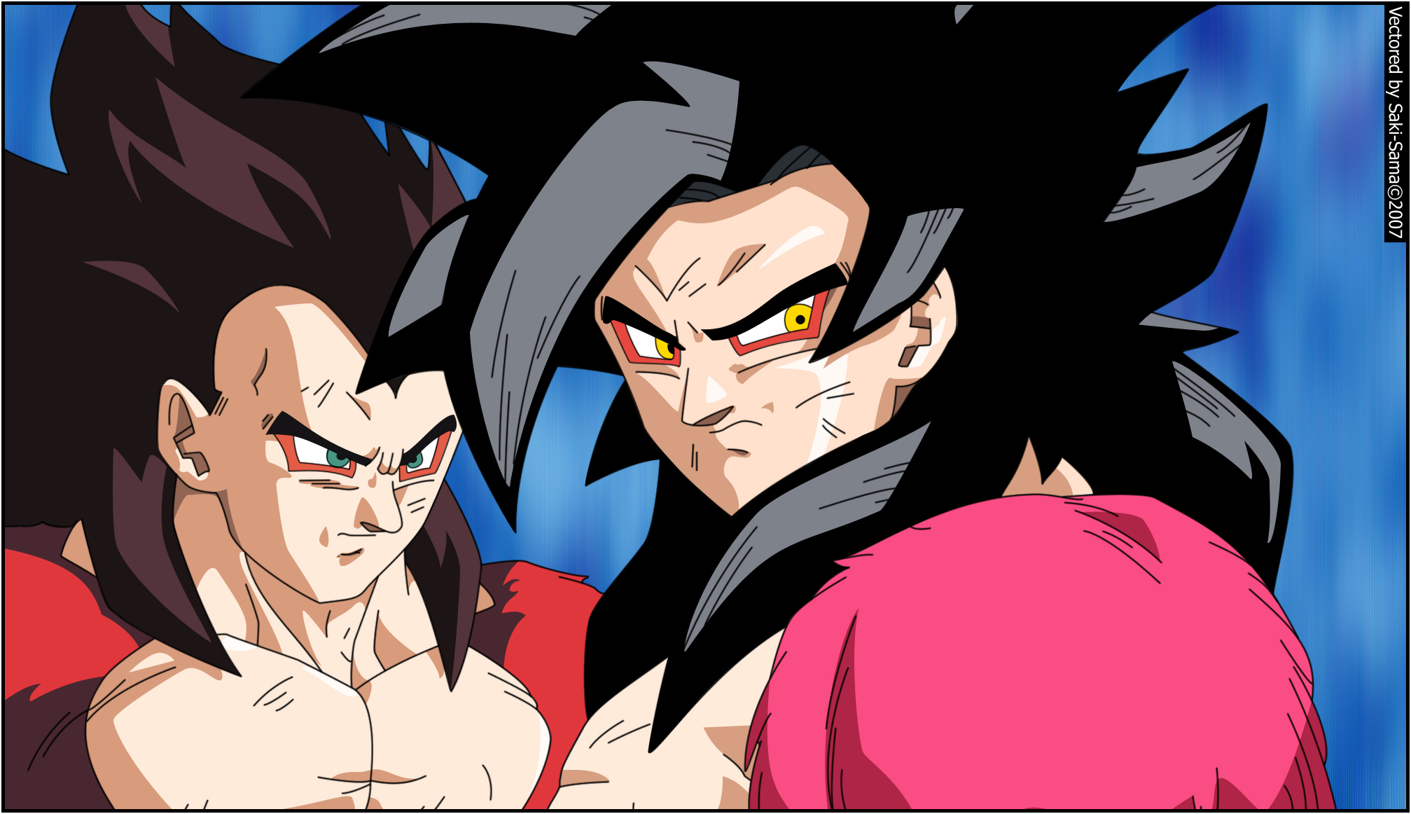 Dragon Ball Vegeta Goku Ss4 Minitokyo