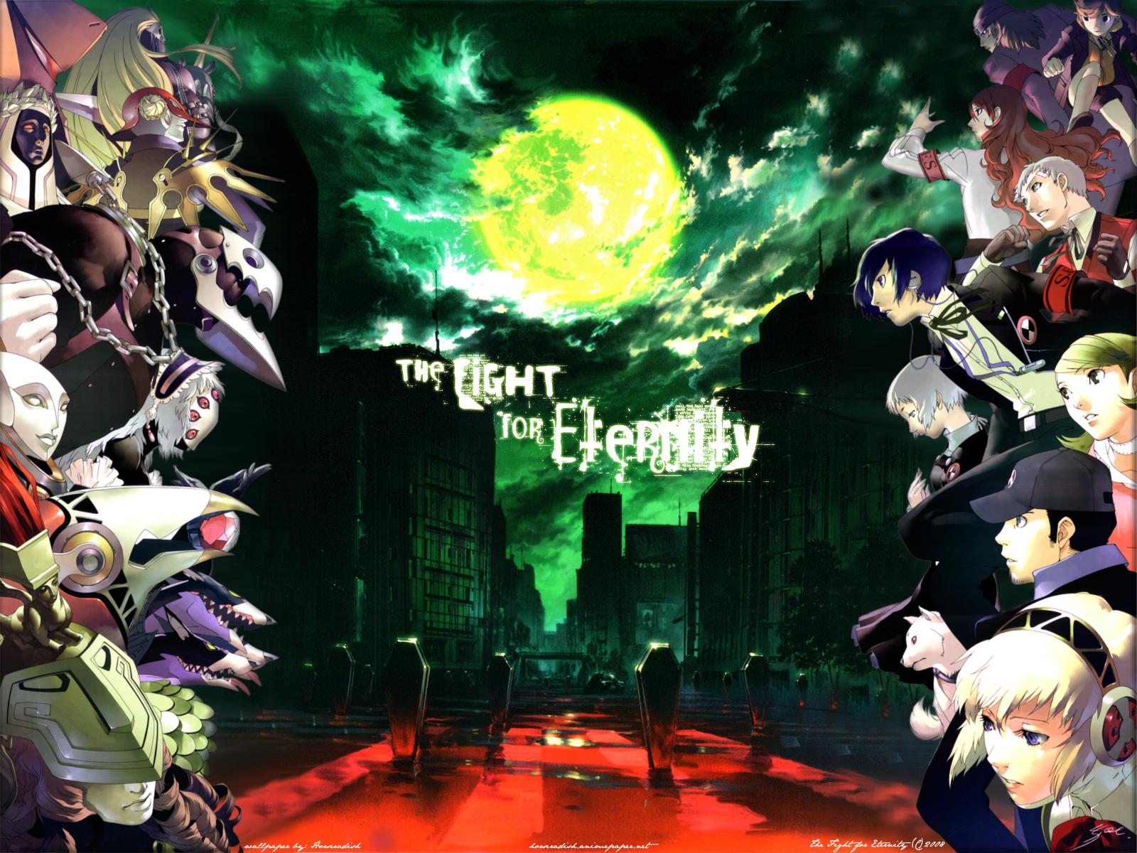Shin Megami Tensei Persona 3 Wallpaper Dark Hour The