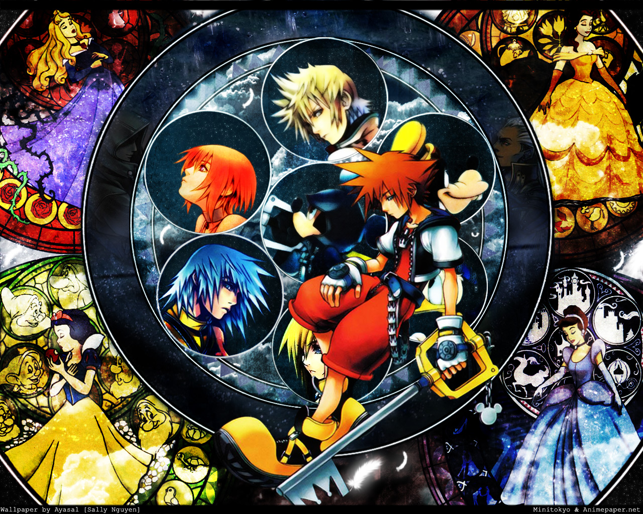 Kingdom Hearts - Wallpaper and Scan Gallery - Minitokyo