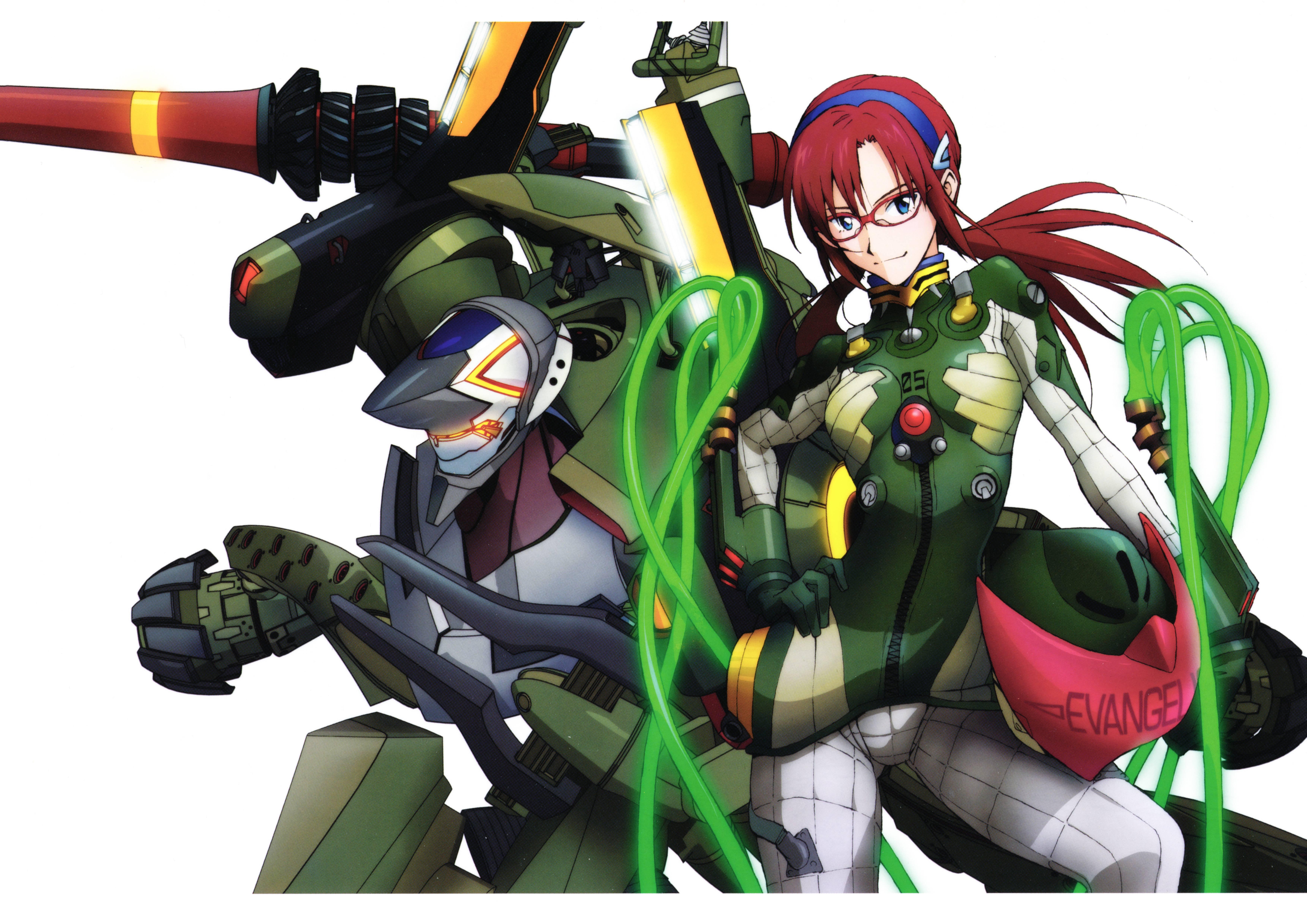 Neon Genesis Evangelion (Makinami Mari Illustrious, Unit ...  Neon Genesis Ev...