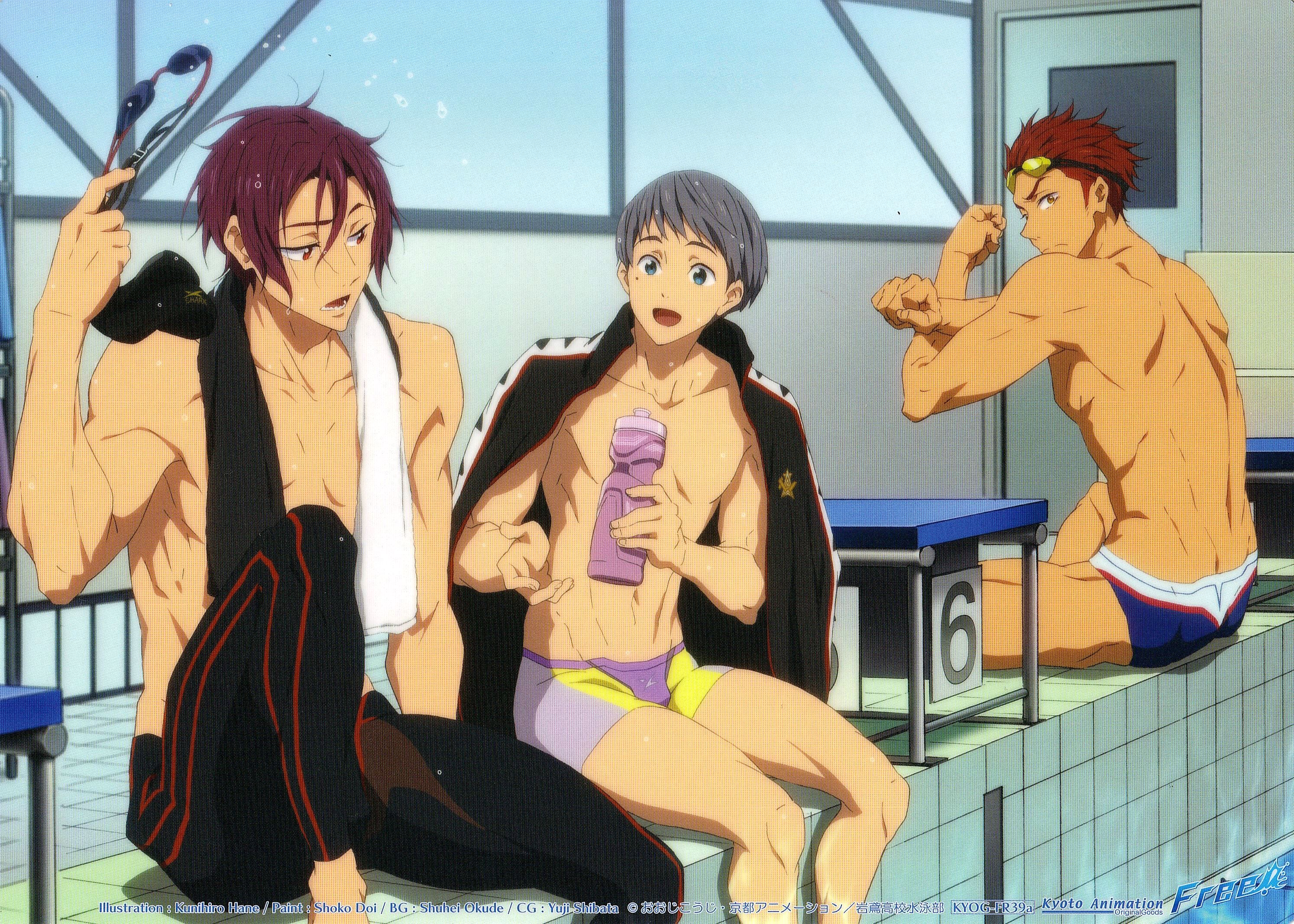 Free Rin Matsuoka Aiichiro Nitori Seijuurou Mikoshiba Minitokyo But big brother matsuoka rin ain't having it, even if the mikoshiba brothers bring their harmless it was funny, really, how despite how completely expected it was that haru and makoto would end up. minitokyo
