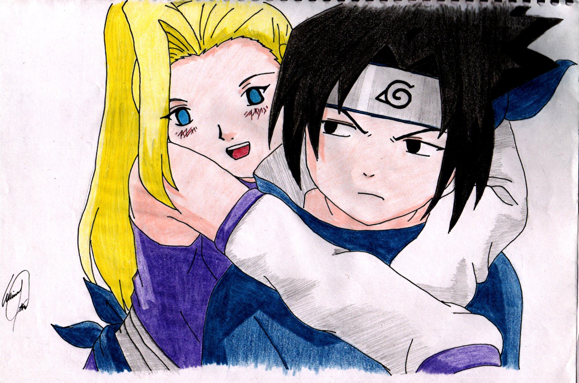 Naruto: Ino and Sasuke - Minitokyo  Naruto: Ino and...