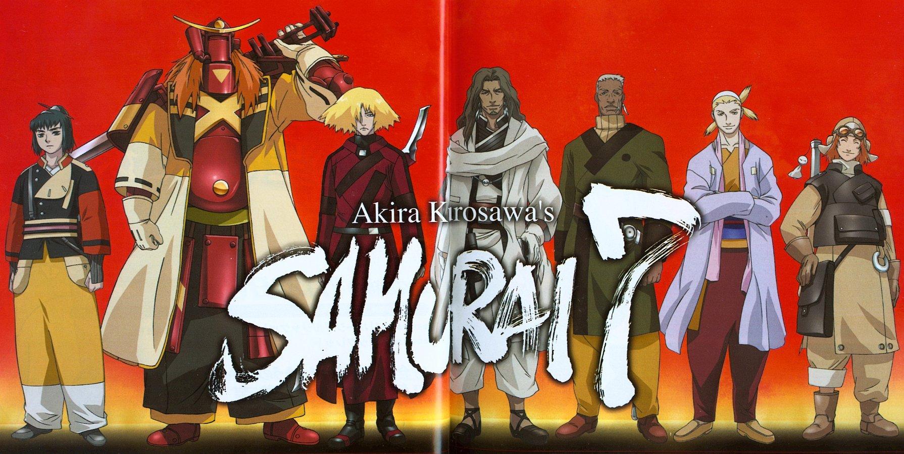 Samurai 7 Anime Characters : Samurai cast newtype minitokyo