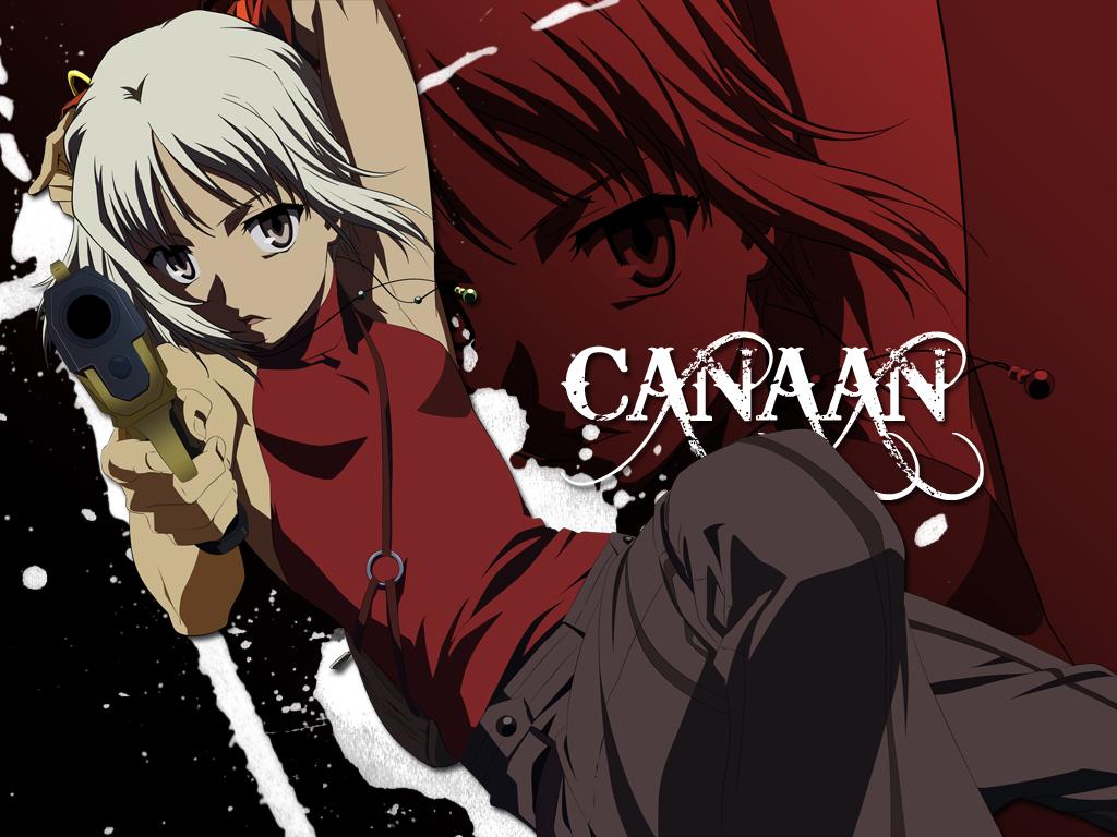 Canaan Wallpaper: Canaan; First Vector! - Minitokyo