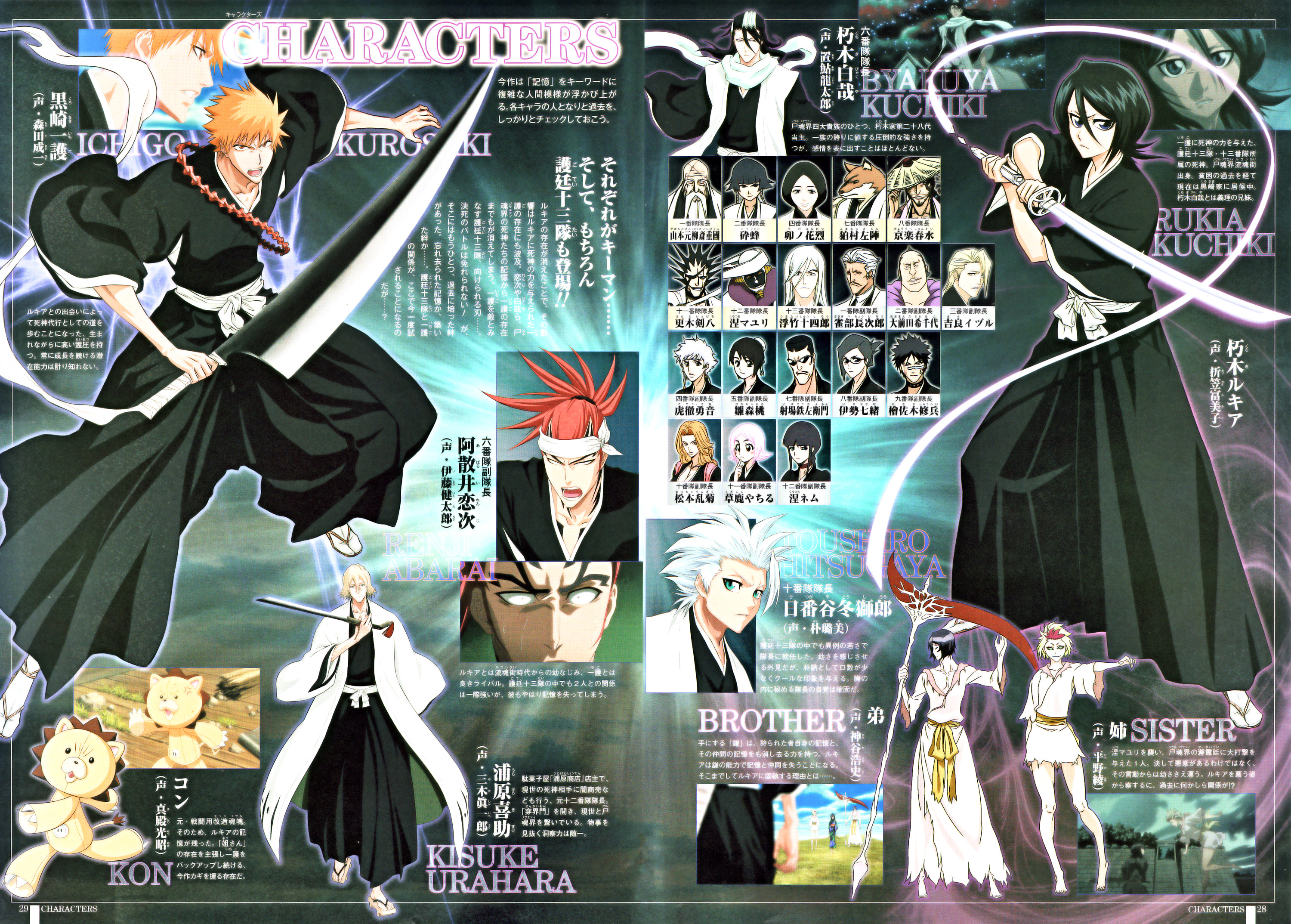 Bleach: Bleach group - Photo Set