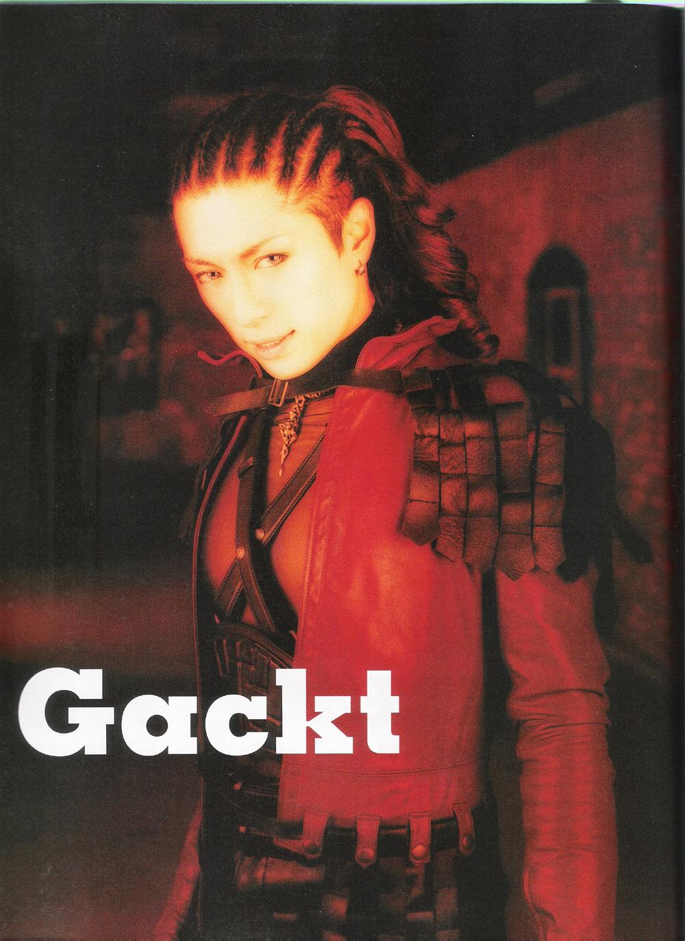 Gackt Camui: Gackt - Hero - Minitokyo