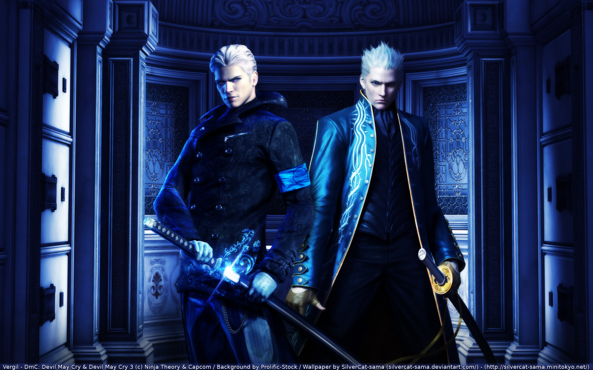 Devil May Cry Wallpaper And Scan Gallery Minitokyo