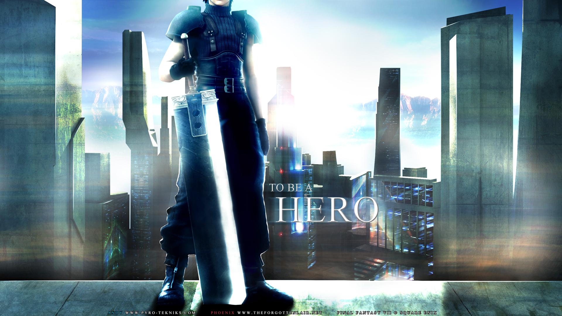 Final fantasy vii crisis core wallpaper hero minitokyo - Zack fair crisis core wallpaper ...