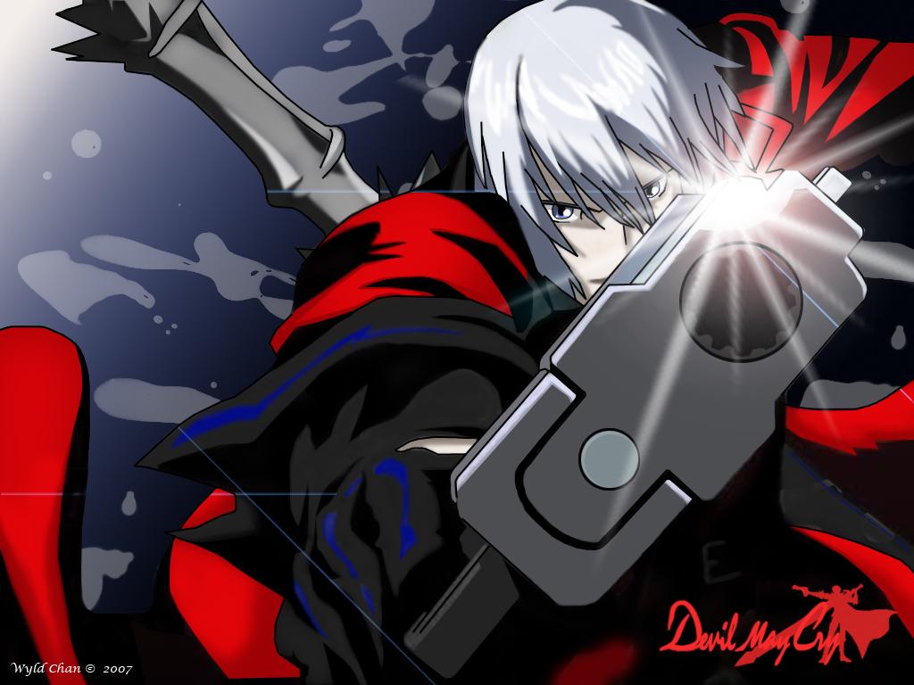 Devil May Cry Wallpaper Dante Animated Minitokyo