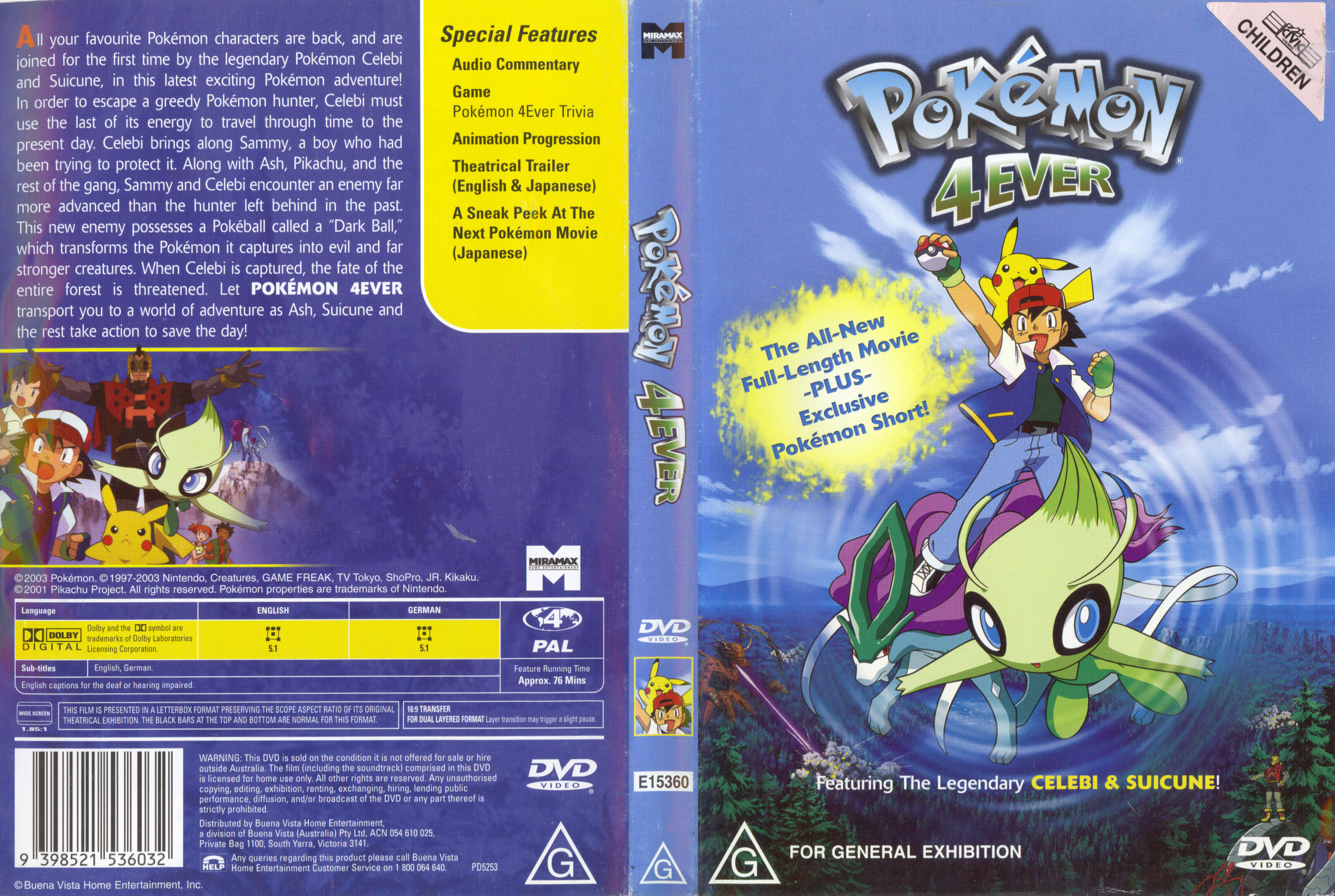 pokemon 4ever full movie in tamil download