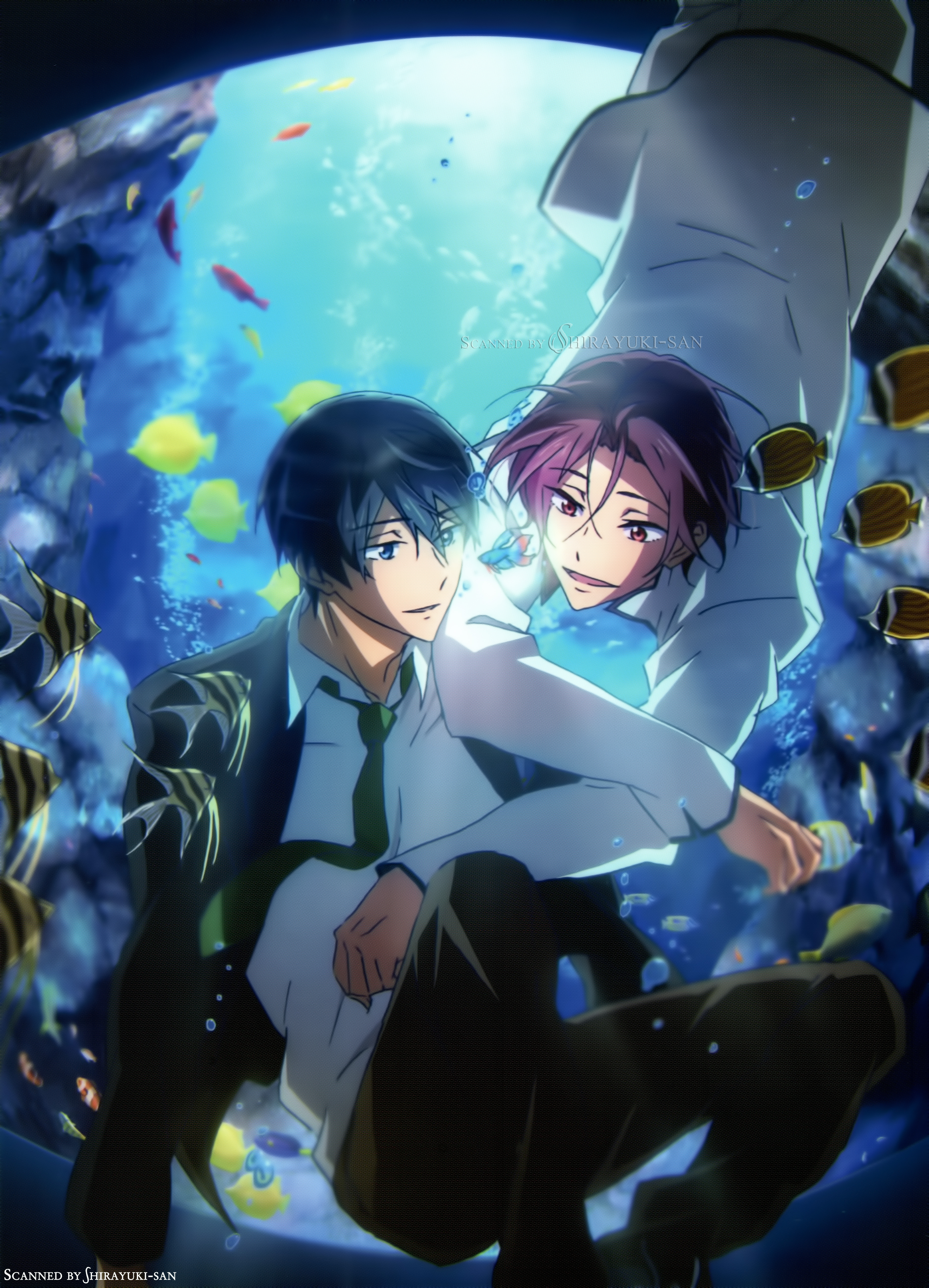 Free Haruka Nanase Free Rin Matsuoka Minitokyo Dive to the future episode 1. 2