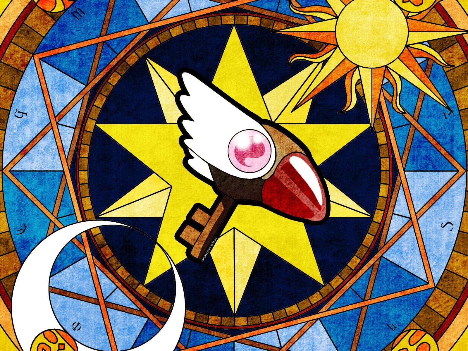 Cardcaptor Sakura Wallpaper: The magic key - Minitokyo