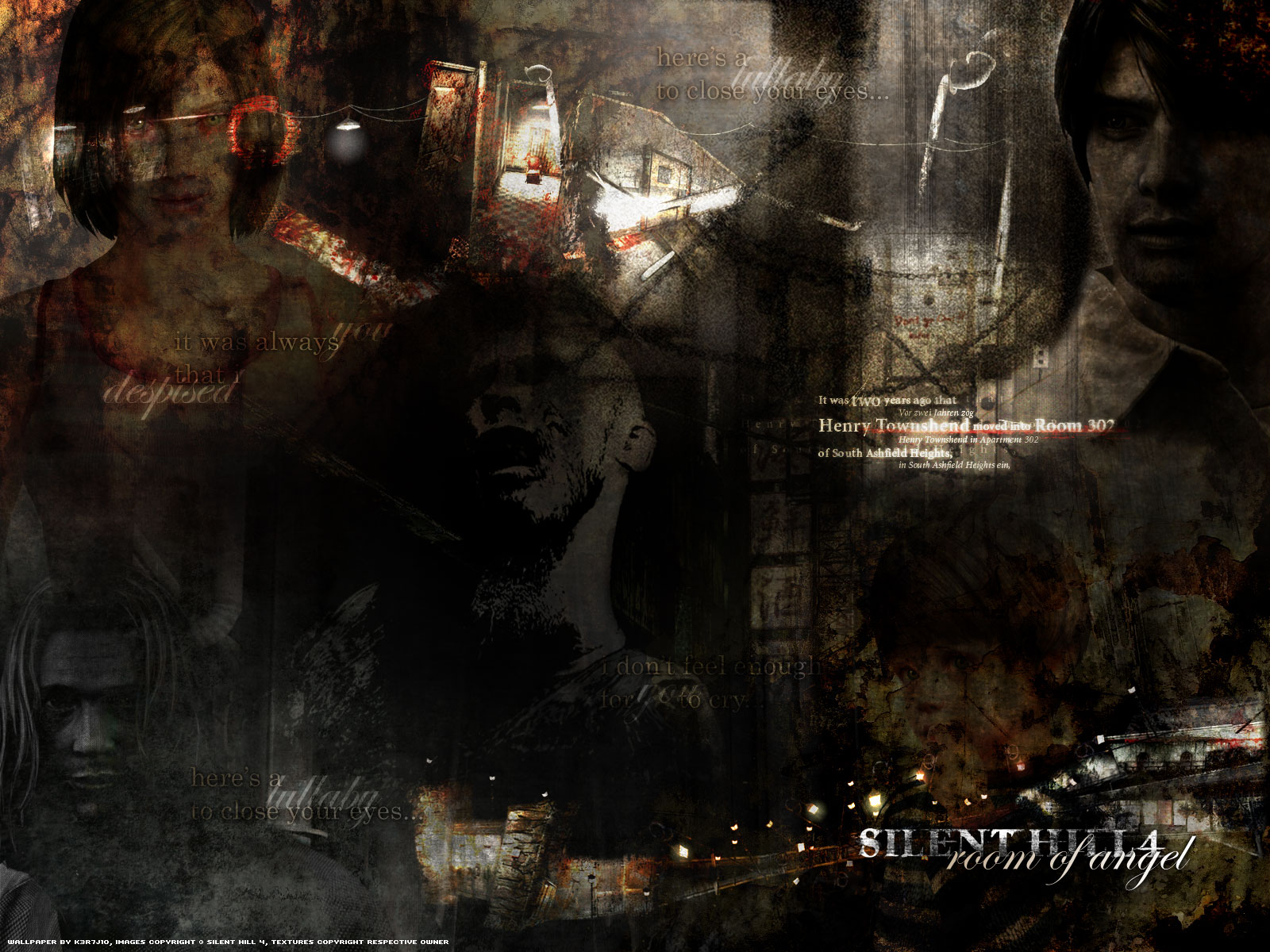 Silent Hill Wallpaper Silent Hill 4 Room Of Angel Minitokyo