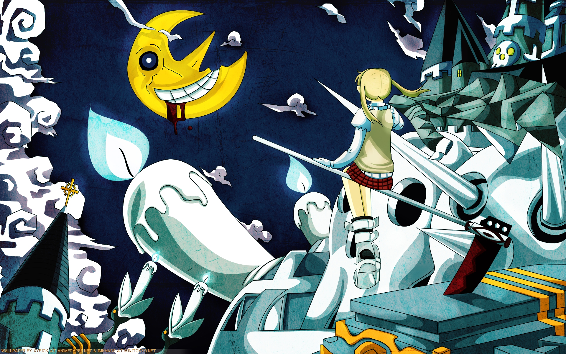 soul eater moon wallpaper