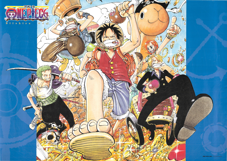 One Piece Monkey D Luffy Roronoa Zoro Nami Usopp Sanji Minitokyo