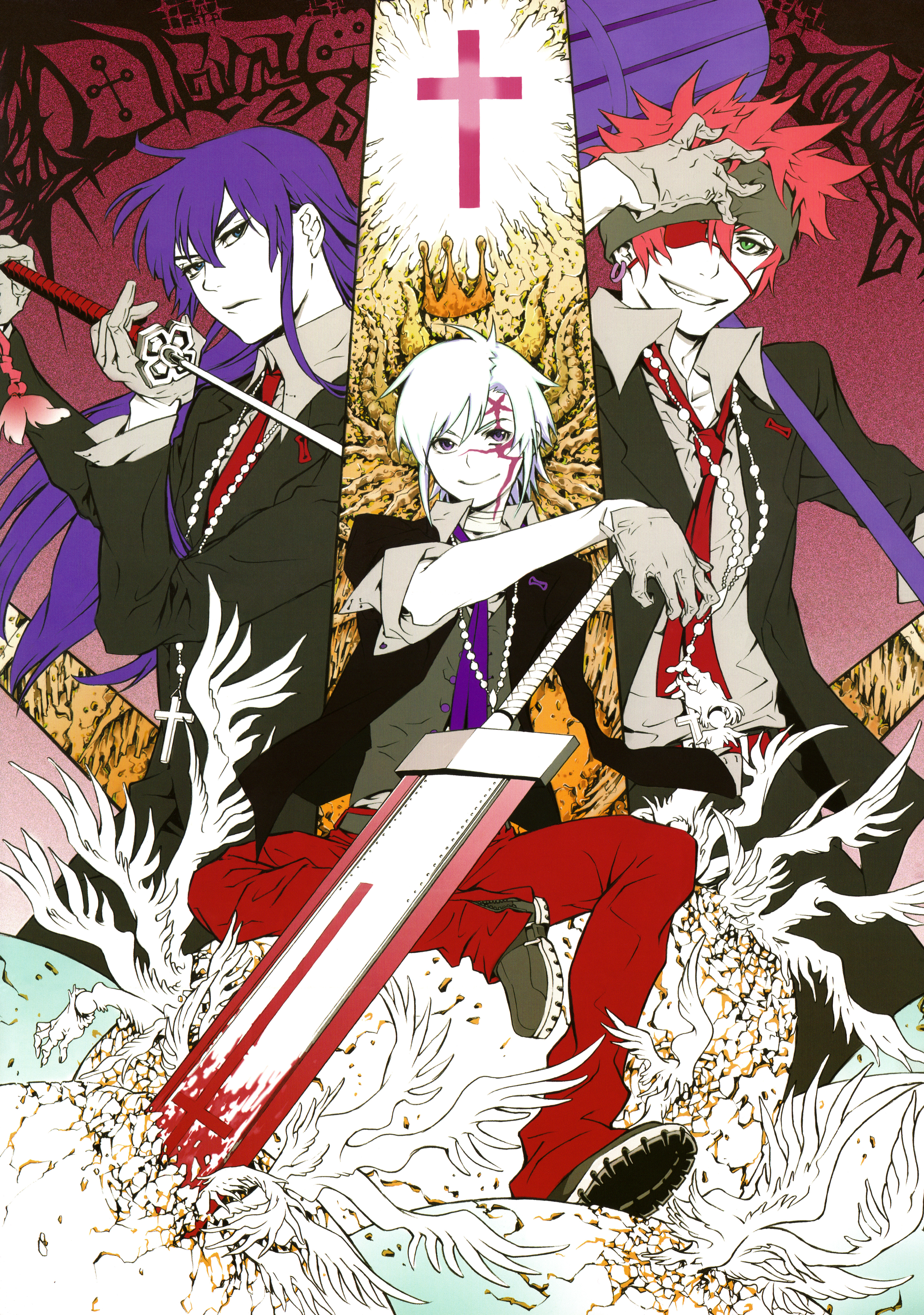 Noche D Gray Man Illustrations Wallpaper And Scan Gallery Minitokyo