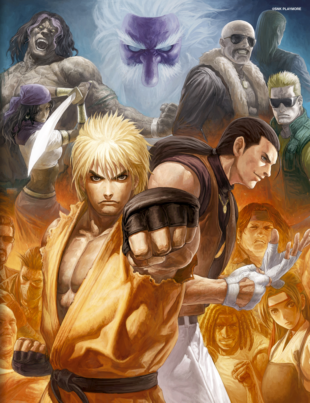 King Of Fighters Art Of Fighting Minitokyo