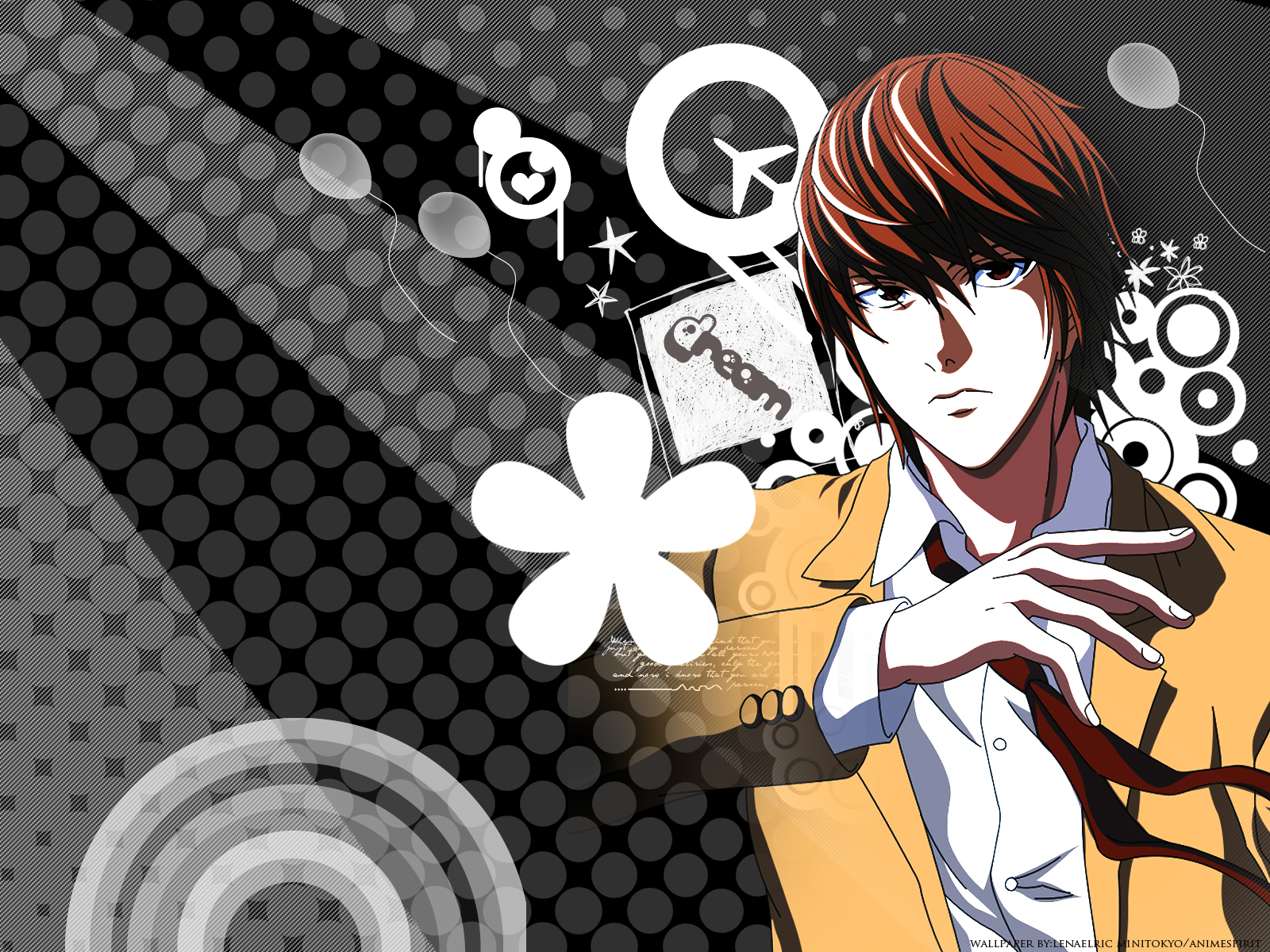 Death Note Wallpaper Light Yagami Minitokyo