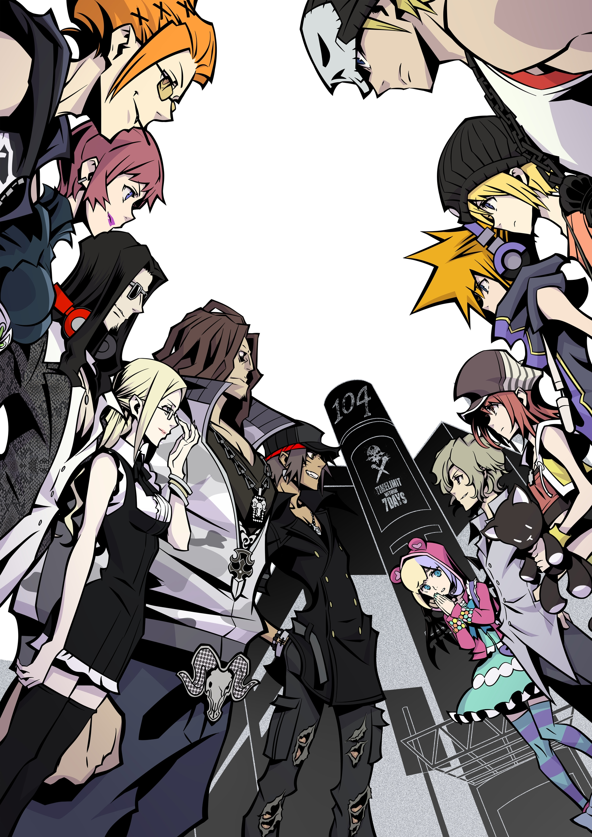 Coco The World Ends With You Wallpaper And Scan Gallery Minitokyo