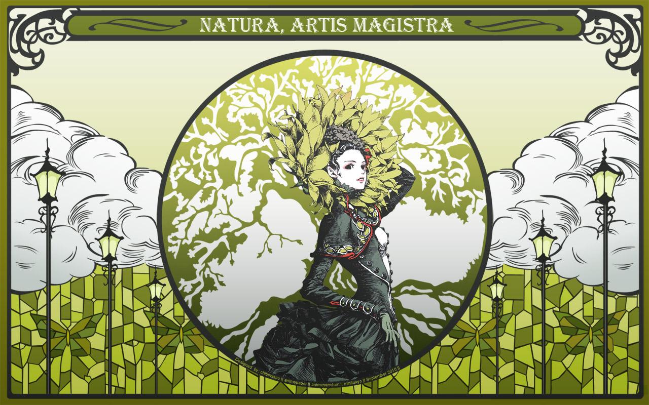Green glass wallpaper natura artis magistra minitokyo - Glass art by artis ...