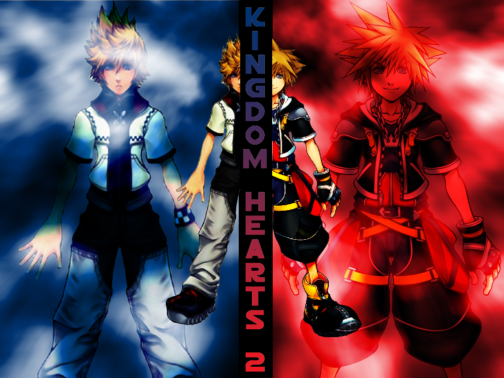 Kingdom Hearts Roxas And Sora Wallpaper