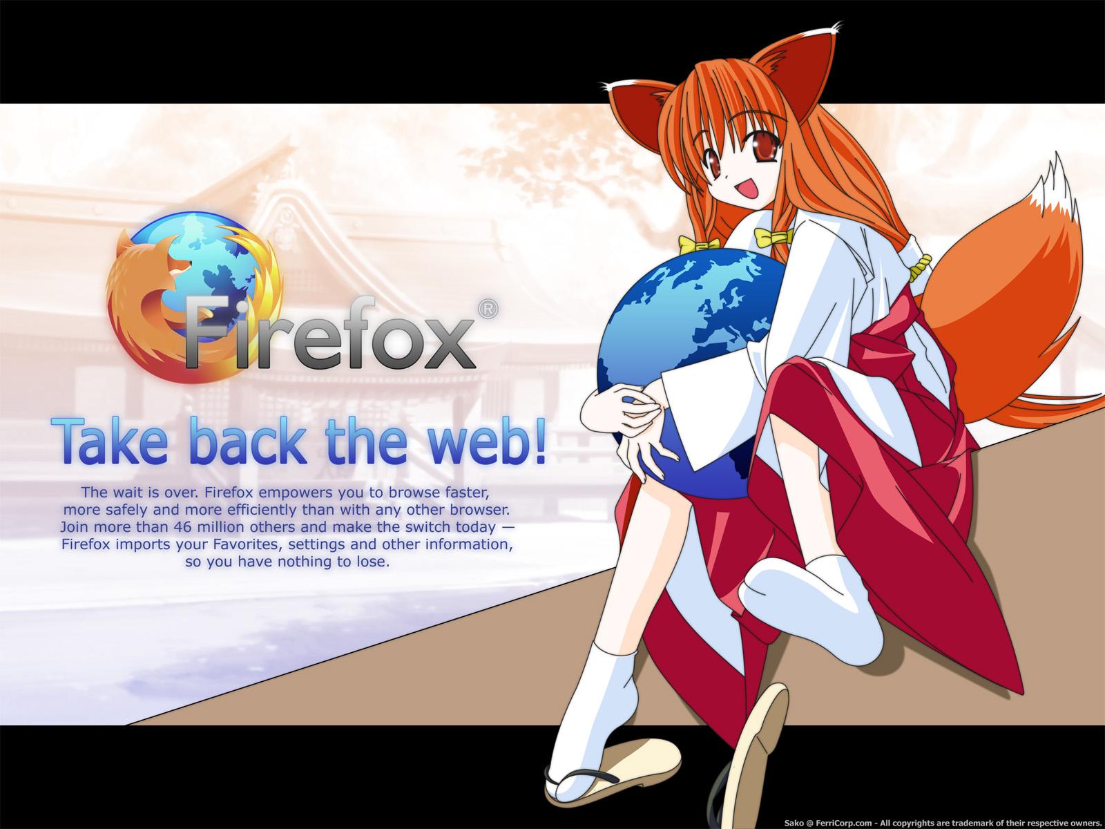 OS-tan Wallpaper: Take Back The Web!