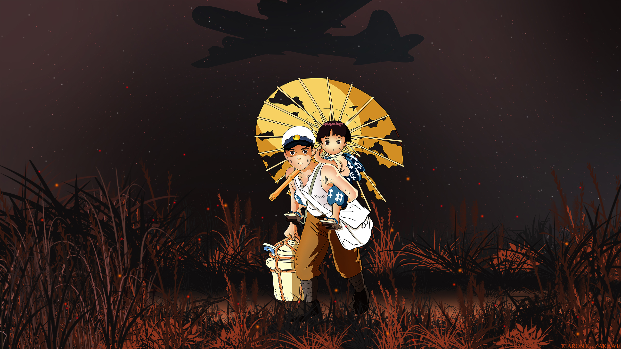 Grave Of The Fireflies Wallpaper Grave Of The Fireflies Minitokyo