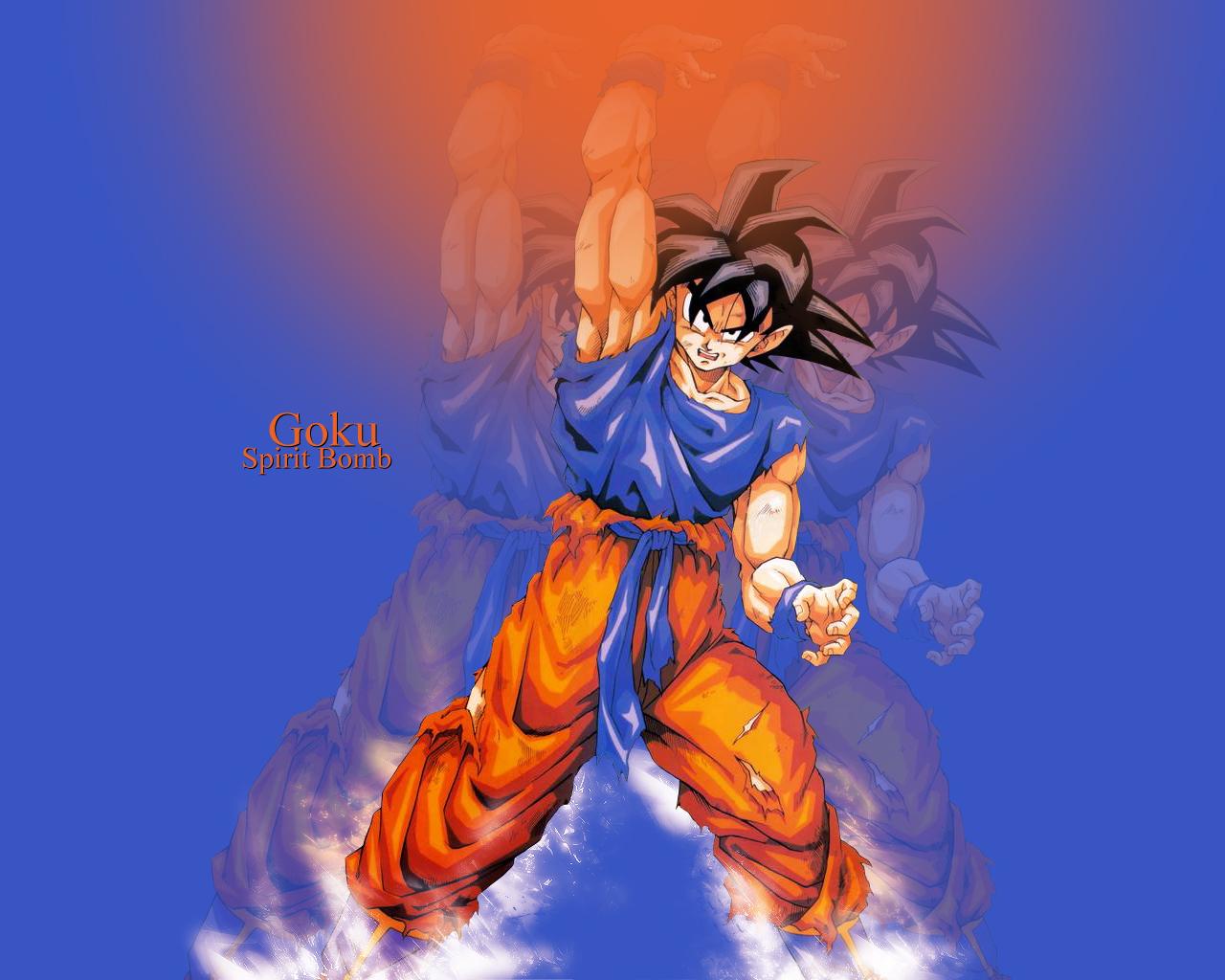 Dragon Ball Wallpaper Goku Spirit Bomb Minitokyo