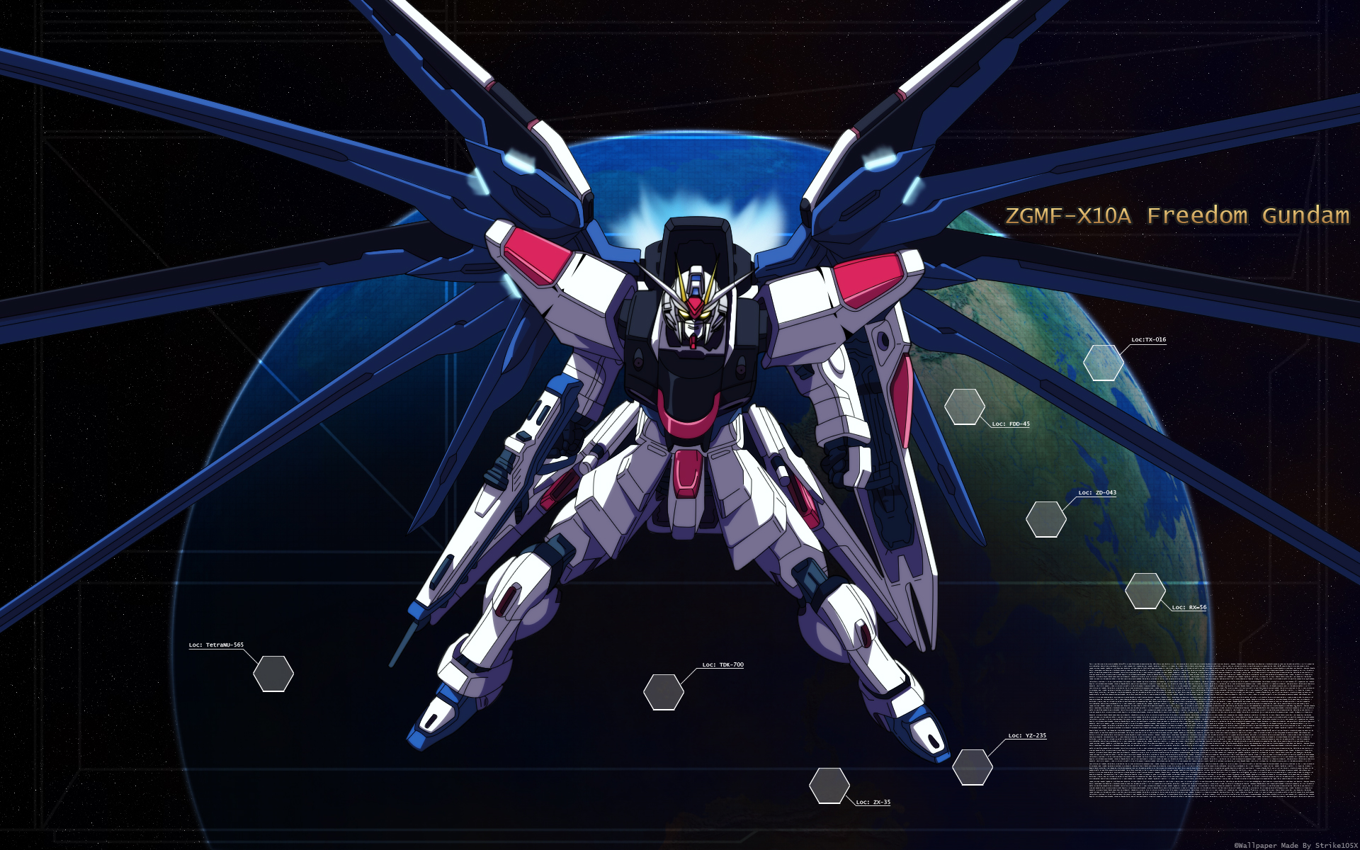 Mobile Suit Gundam Seed Wallpaper And Scan Gallery Minitokyo