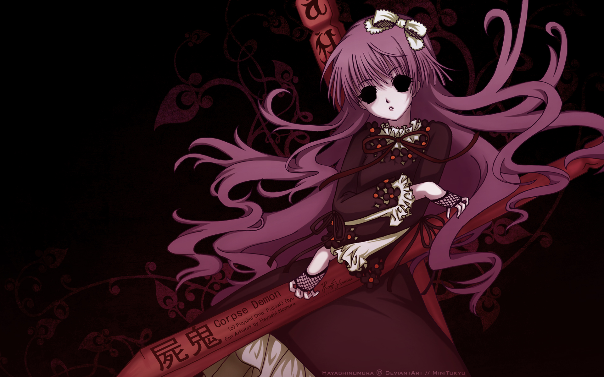 Corpse demon wallpaper and scan gallery minitokyo voltagebd Images