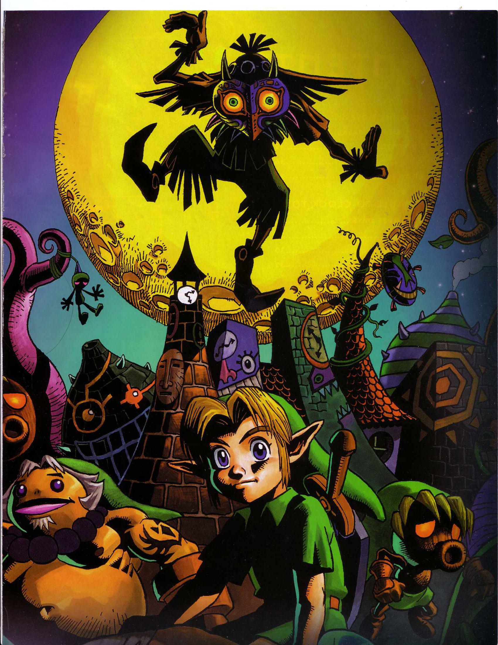Zelda Majoras Mask Wallpaper Skull Kid