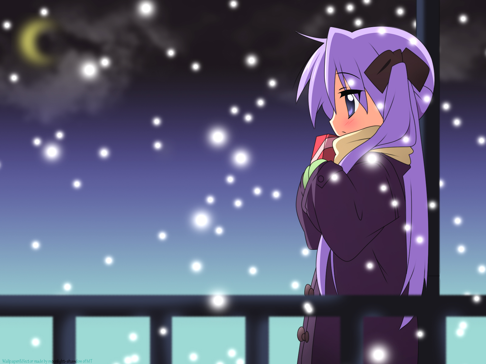 Lucky Star Wallpaper: Lost Love - Minitokyo