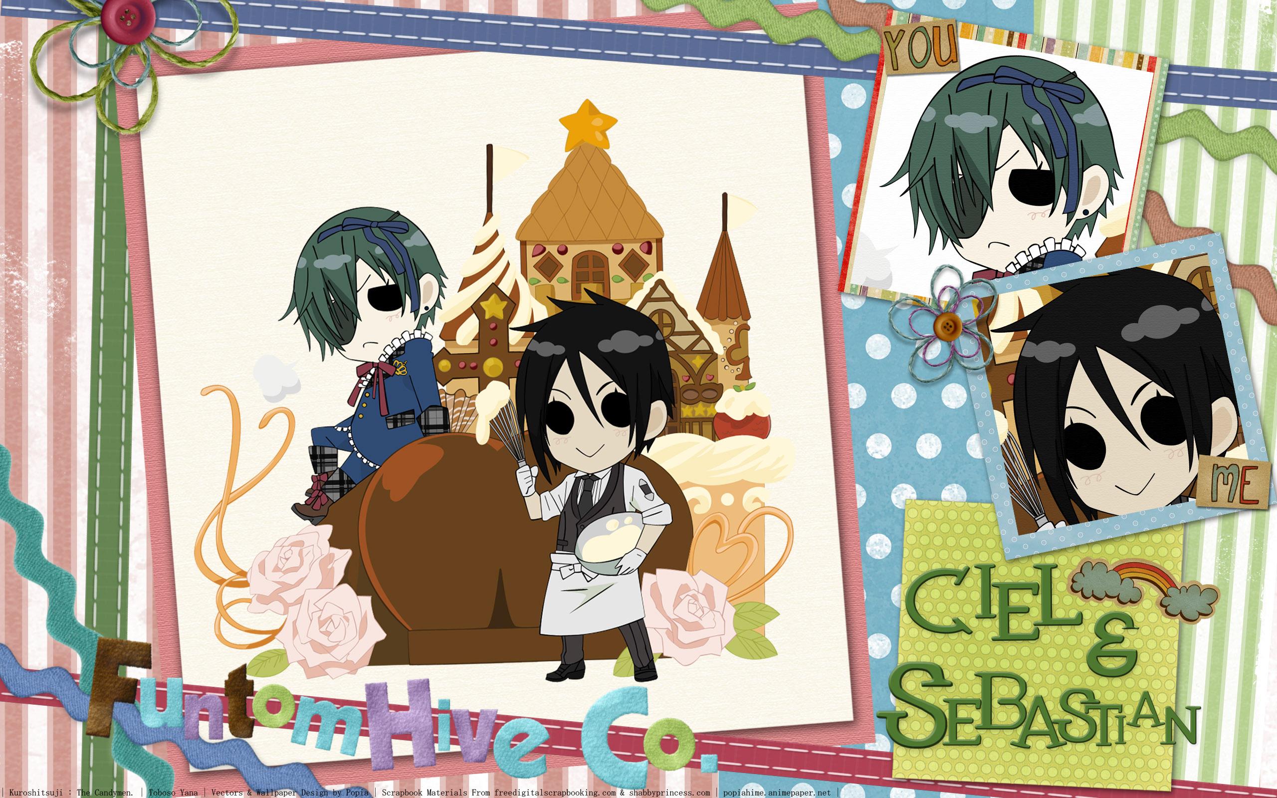 A 1 Pictures Kuroshitsuji Black Butler Wallpaper Chibi